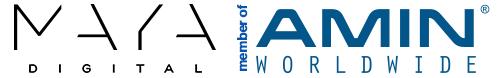 MAYA DIGITAL membre d'AMIN WORLDWIDE
